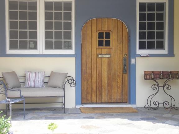 New Rochelle Front Door and Patio