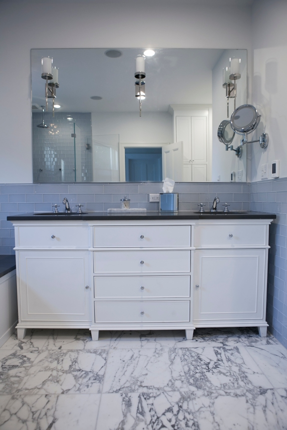 Master Bath Vanity view