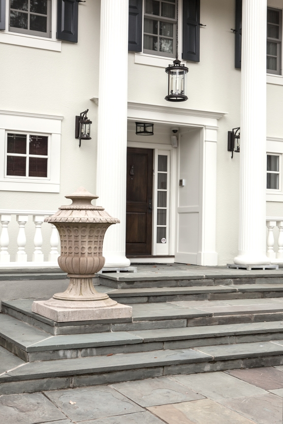 Front Portico, Up-Close.