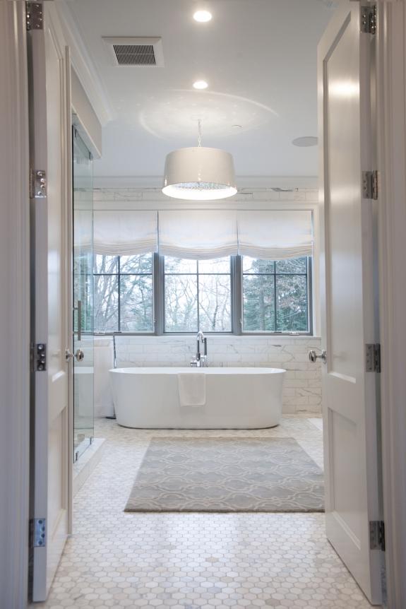 View into Master Bath.