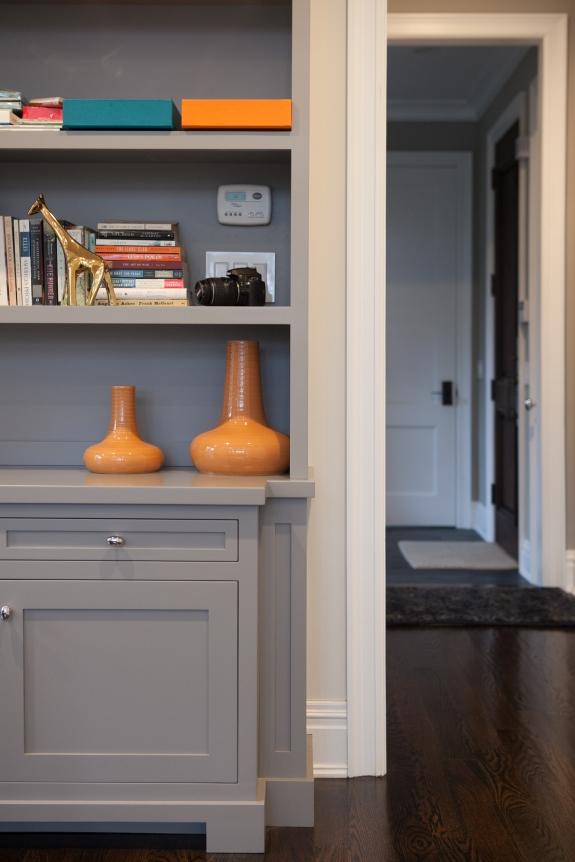 Home Office Detail-- Orange!