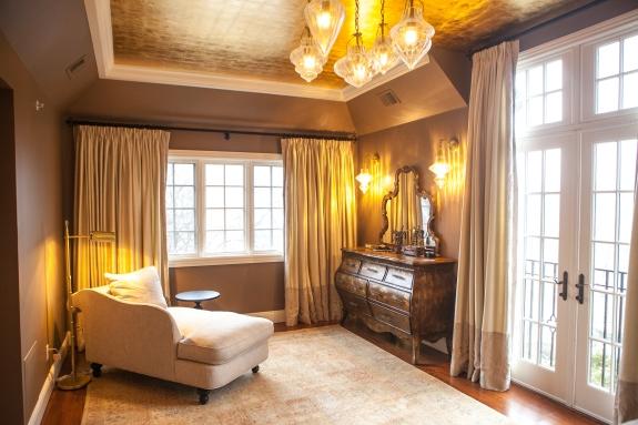 Glimmering Master Bedroom